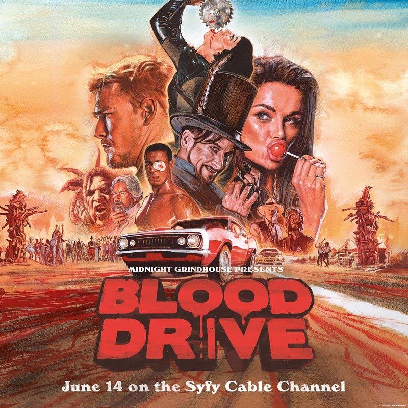 Watch Movie blood-drive-season-1