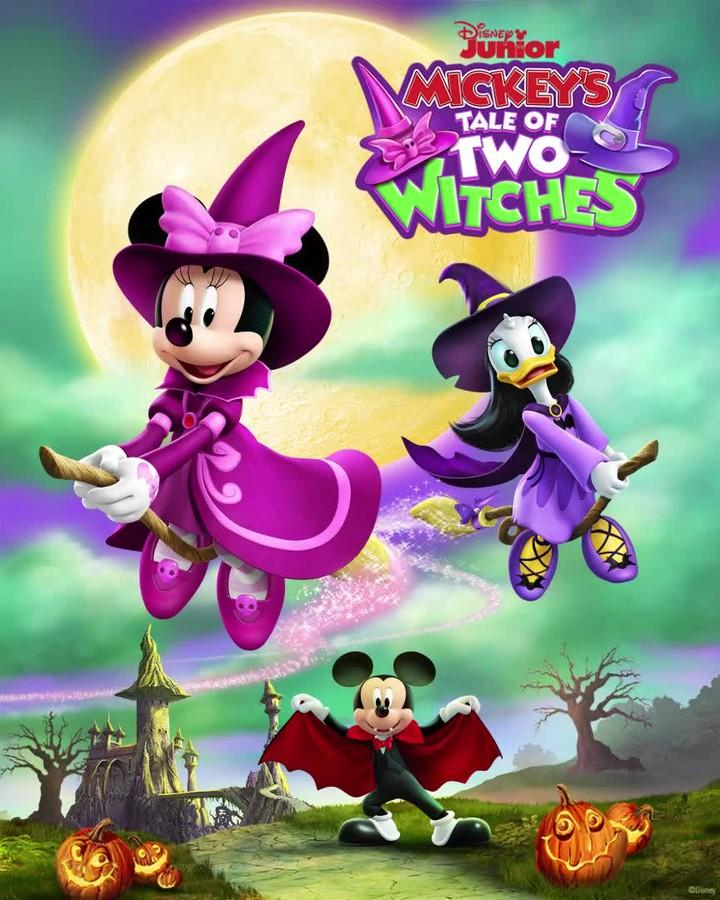 Mickey's Tale of Two Witches